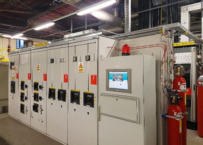 armoire electrique système firedetec