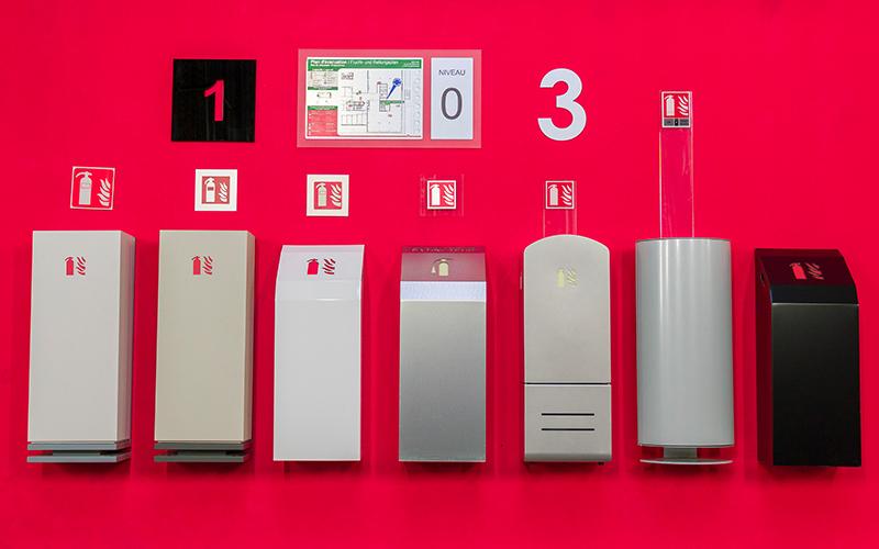 mobilier-design-variete-finitions-haut-de-gamme-extincteurs